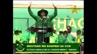Original comedy Tabora; Ali Hassan Mwinyi stadium kampeni CCM