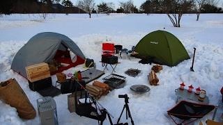 Winter camping 雪中キャンプ IN中蒜山