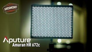 aputure amaran 672c led video light