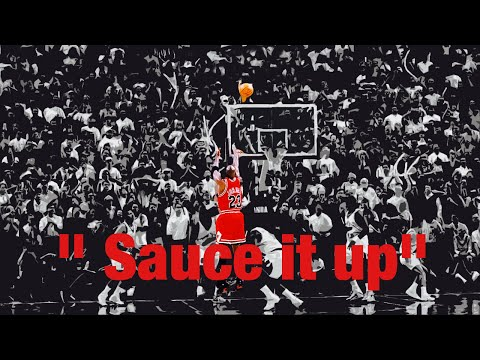 Michael Jordan Mix Sauce it up