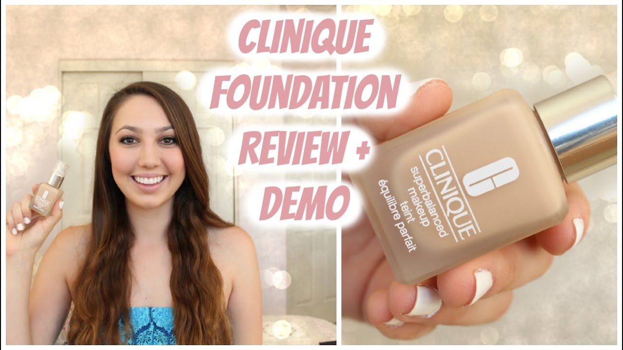 Clinique even better makeup foundation review swatches before - Clinique Superbalanced Makeup Foundation Review Demo My Favorite Foundation Youtube