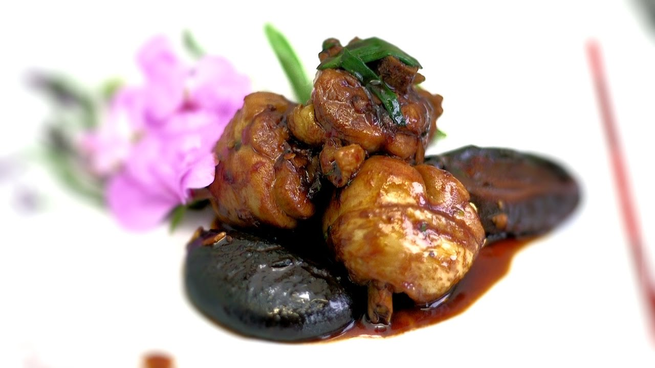 Made black mushrooms used in asian cooking double