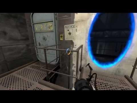 Portal 2 walkthrough HD - chapter 6: The Fall