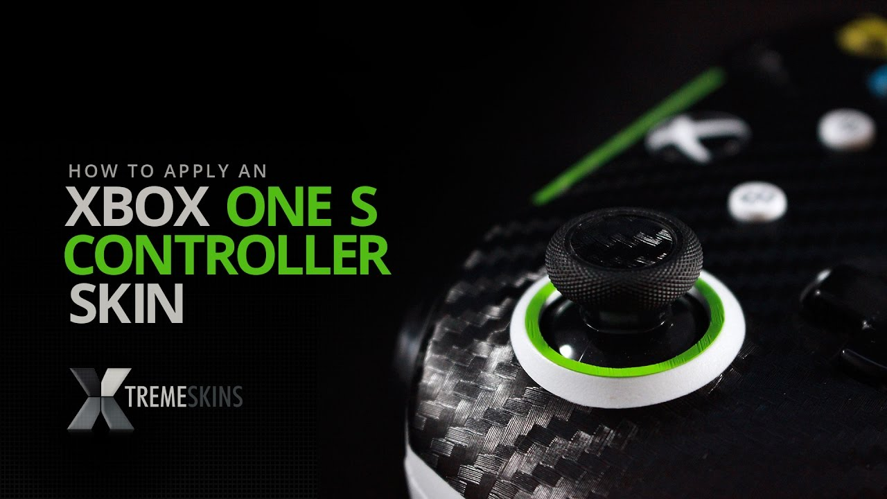 How To Apply An Xbox One S Controller Skin | XtremeSkins - YouTube