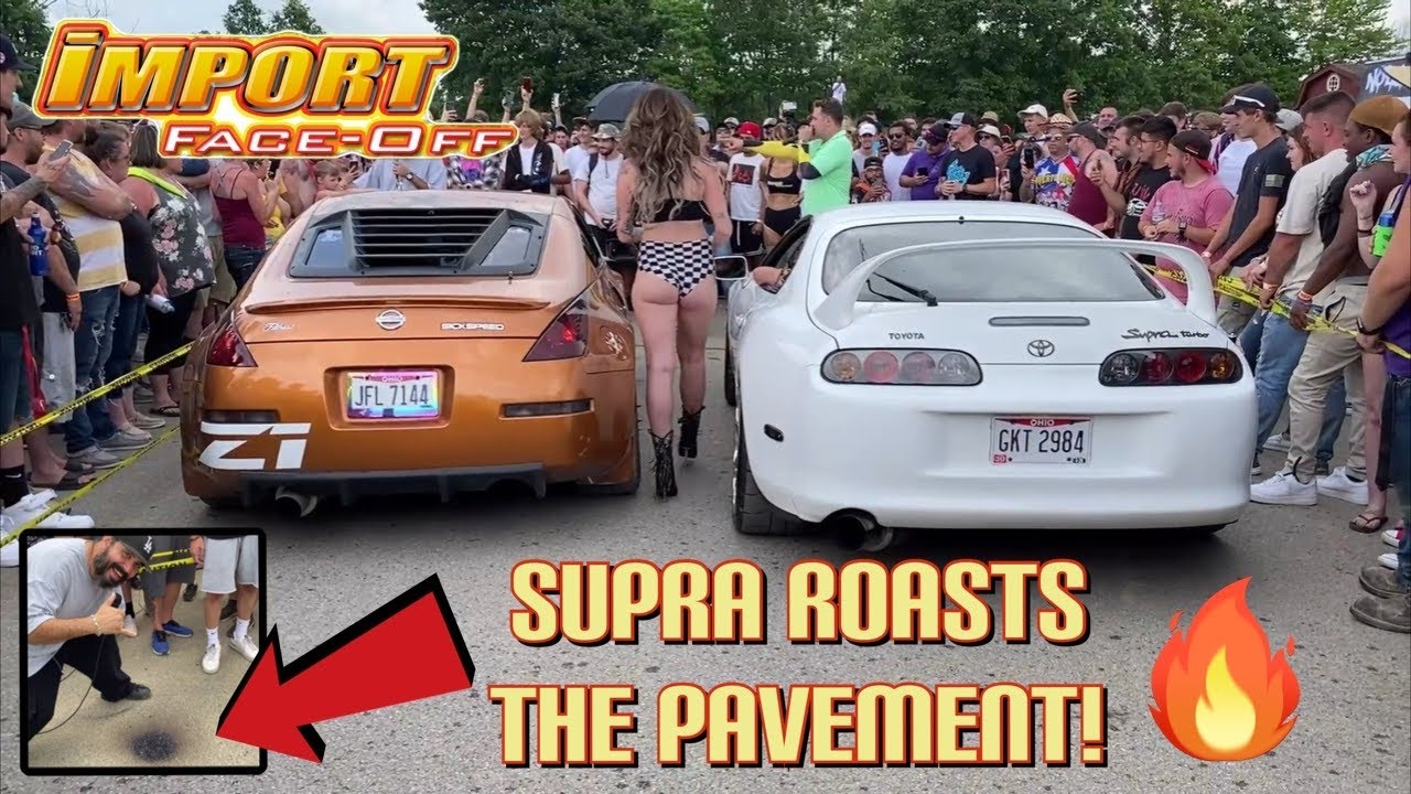 """2 Step Battle Ohio Import Face-Off with """"Hector"""" as a Supra DESTROYS the competition (and pavement)!"""