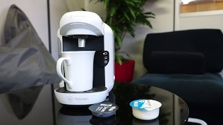 Les Numériques : Test de la cafetière Tassimo Vivy de Bosh