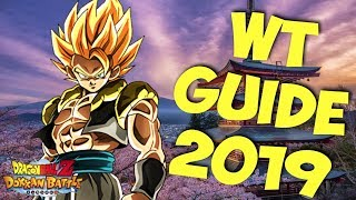 BECOME THE CHAMPION! Ultimate World Tournament Guide 2019: DBZ Dokkan Battle