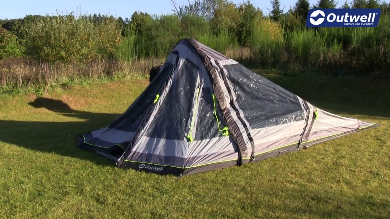 How to pitch an Outwell tunnel tent with Advanced Air Tube System | Innovative Family C&ing & How to pitch an Outwell tunnel tent with Advanced Air Tube System ...
