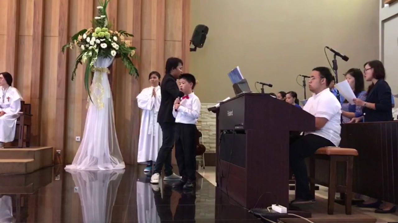 Doa Seorang Anak by Don Bosco Choir Ft Audric Gereja St ...