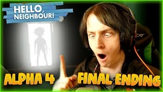 THE ENDING IS MAGNIFICANT! | HELLO NEIGHBOR ALPHA 4 FINAL ENDING | DAGames