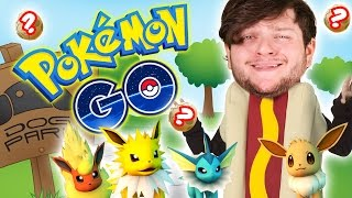 Pokemon GO | WIENER IN THE DOG PARK! (Part 4 Funny Moments!)