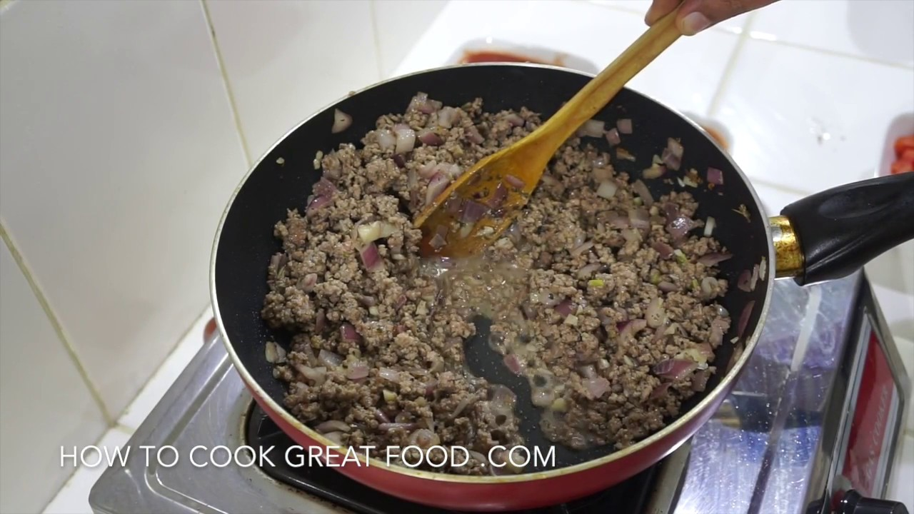 how to make lasagna sauce youtube