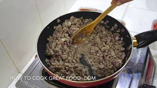 Easy Meat Sauce Recipe - Pasta Sauce Bolognese - Lasagna Sauce