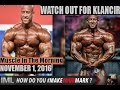 WATCH OUT FOR KLANCIR! - Muscle In The Morning November 1, 2016
