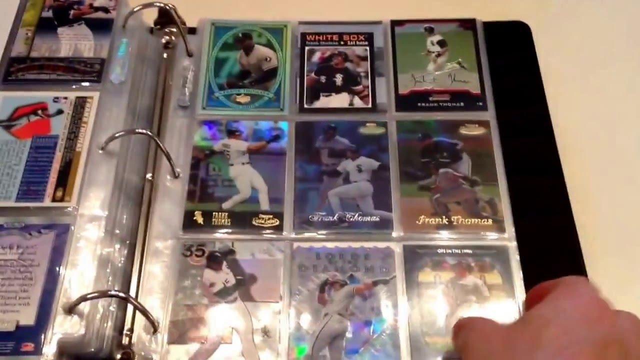 How I Organize My Baseball Cards Video For Purplegt22