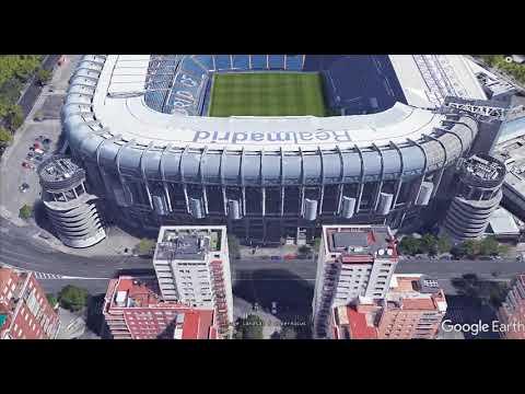 Madrid Stadio Real Madrid 20170822 Tour 3D