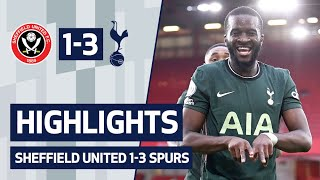 HIGHLIGHTS | SHEFFIELD UNITED 1-3 SPURS | Ft. Tanguy Ndombele's sensational strike!