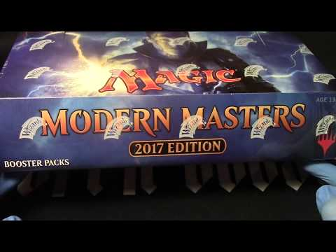 MTG Modern Masters 2017 whole box  opening! Lets tear it up!