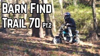 Honda CT70 Frankenstein Exhaust, Electrical Gremlins! (Pt. 2) thumbnail