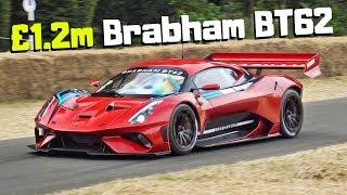 £1.2M Brabham BT62 - 700HP Australian Track-Only HYPERCAR - 2018 Goodwood Festival of Speed