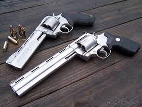 BELTFEDOPS:Colt anaconda .44 mag revolver REVIEW - YouTube