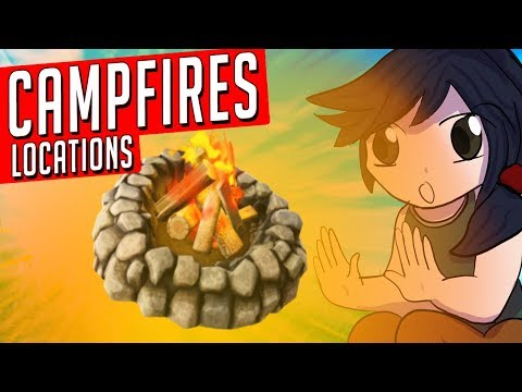 *ALL* Fortnite Environmental CAMPFIRES! (Fortnite Update)