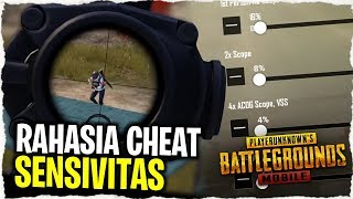 CHEAT AIMBOT IS REAL..!! SETTING SENSITIVAS RAHASIA EMULATOR | PUBG Mobile Indonesia