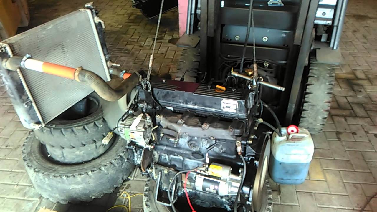 daa6b98a3 Проверка дизельного двигателя Komatsu после ремонта - YouTube