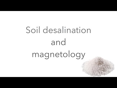 How to make salt water usable for irrigation