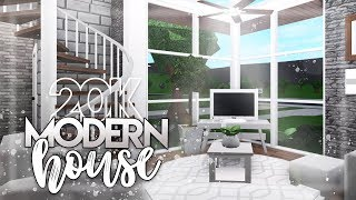 Roblox | Bloxburg: 20k Modern House | House Build