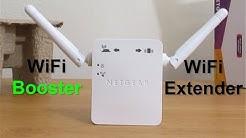Netgear n300 WiFi range Extender- Wifi Repeater Setup & reView - WiFi extender for Gaming