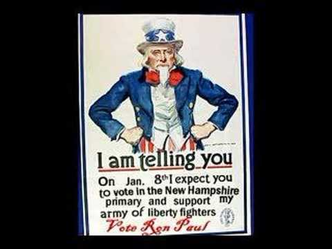 Ron Paul Liberty New Hampshire Primary Uncle Sam