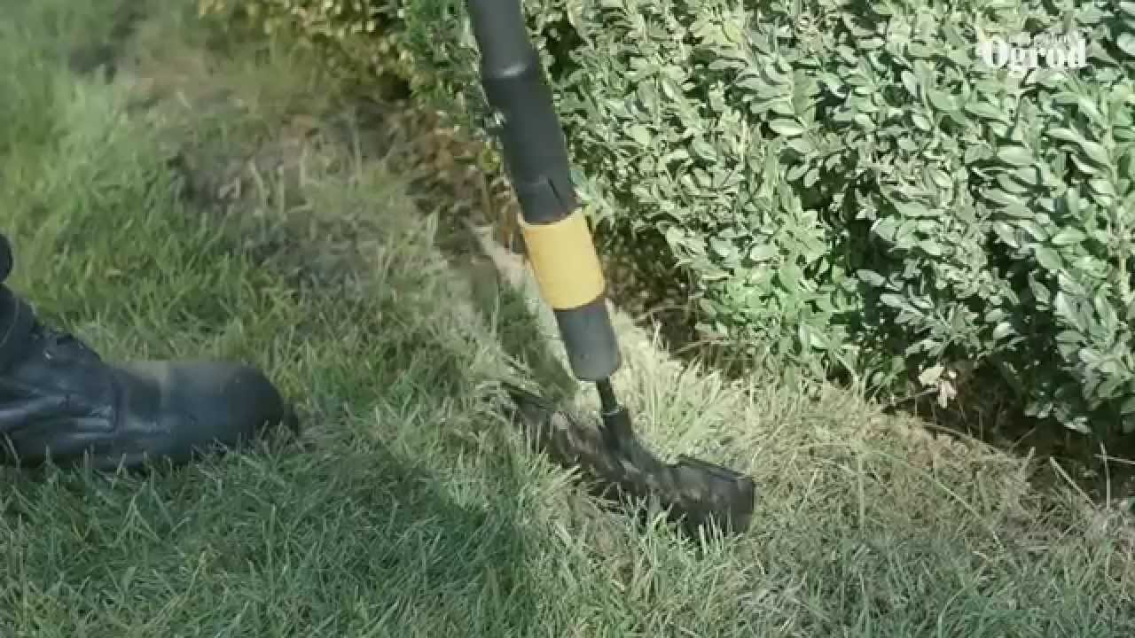 Jak wyrównać brzeg trawnika