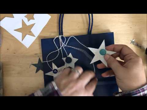 giftbag for baby: how-to with ScanNcut
