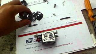 how to rebuild a zama carburetor echo backpack blower carb