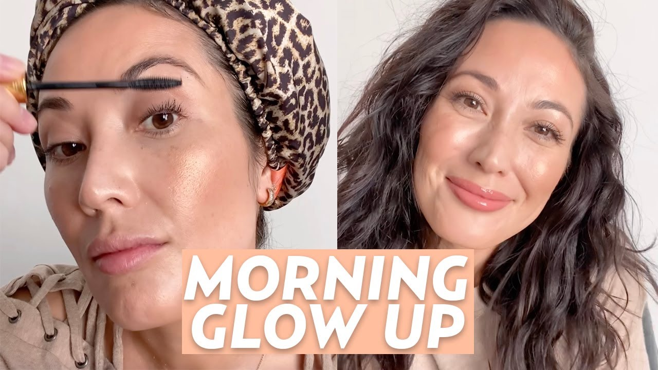 """""""Glow Up"""" With This Morning Skincare & Makeup Routine"""