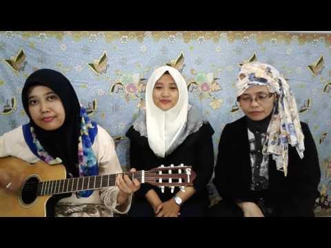 Mama papa larang  ( Judika )Cover By Ansera, Euis & Mamah Mertua