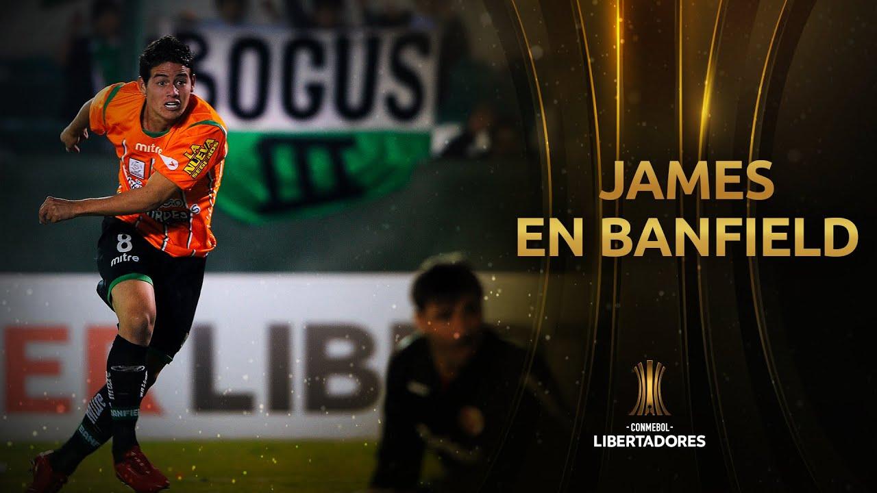 Cuando JAMES RODRÍGUEZ brillaba en la CONMEBOL LIBERTADORES