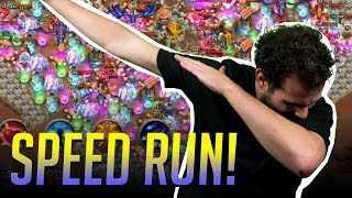 INSANE 7 Speed RUN Fastest Time EVER Castle Clash