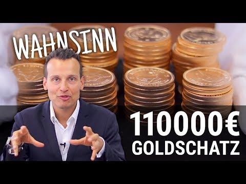 Krügerrand Goldmünzen 🔱 Der 110.000 EUR Goldschatz
