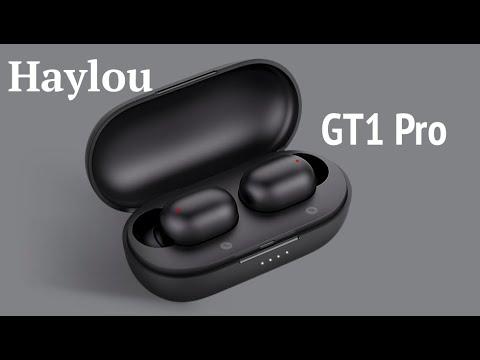 Лучшие Бюджетные Блютуз наушники Haylou GT1 Pro,емкость800mAh. Двойной Микрофон,Сенсорное Управление