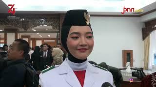 Salma Pembawa Baki Bendera Bercita-cita jadi TNI AU - JPNN.COM