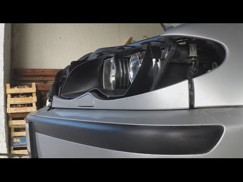 How to install angel eyes on BMW 3 E46 Touring Facelift