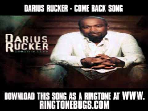 Darius Rucker - Come Back Song [ New Video +...
