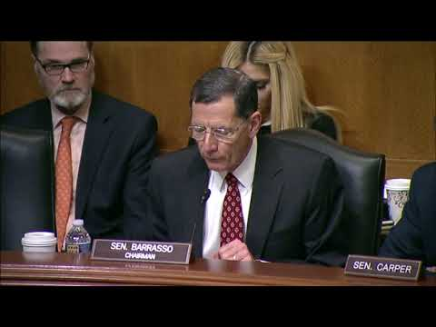 Barrasso Opening Statement at NRC Oversight Hearing