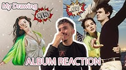 Reacting to Norman F*****g Rockwell While Drawing Lana Del Rey | Klay Simmons