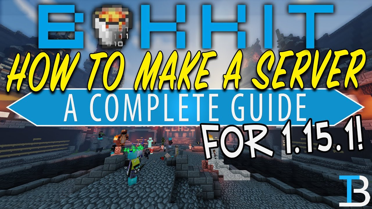 How To Make A Bukkit Server in Minecraft 1.15.1 - YouTube