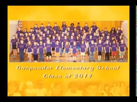 Gunpowder Elementary School 2014 Graduation Slideshow