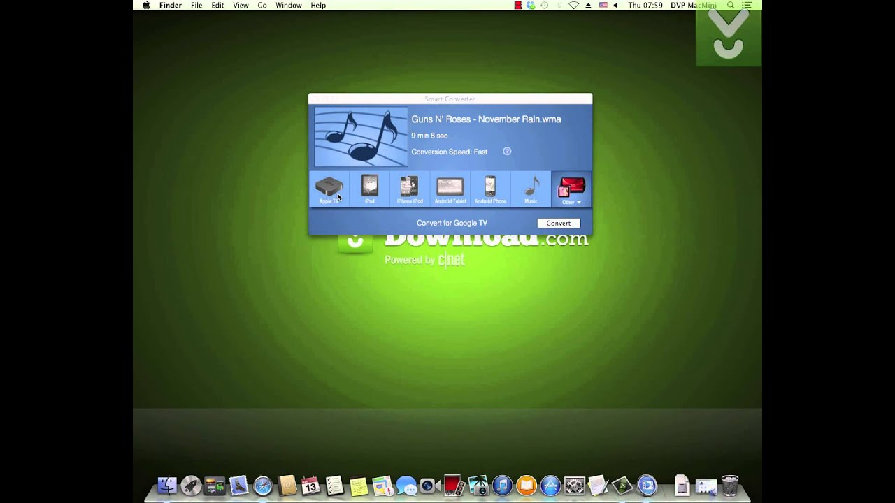 Smart Converter - Convert media files on Mac - Download Video Previews