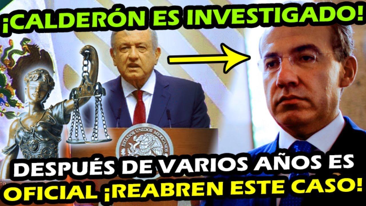 ES OFICIAL ¡ FELIPE CALDERON ES INVEST IGADO POR LA CIDH ! REABREN CASO ABC